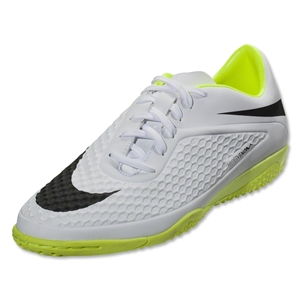Nike Hypervenom Phelon IC (White/Volt/Black)