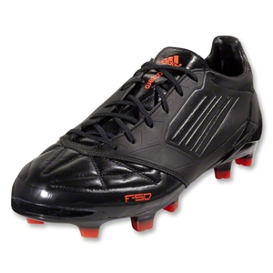 adidas F50 adizero TRX FG-miCoach compatible (Leather-Black/Black/Infrared)