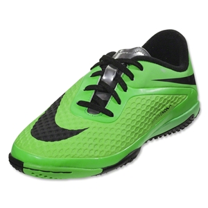 Nike Hypervenom Phelon IC KIDS Shoes (Neo Lime/Black/Poison Green)