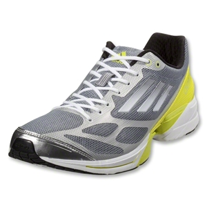adidas adizero Feather 2 (Tech Grey/Running White/Lab Lime)