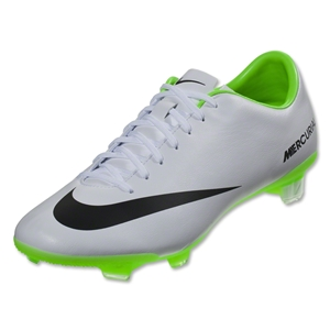 Nike Mercurial Veloce FG (White/Black/Electric Green)