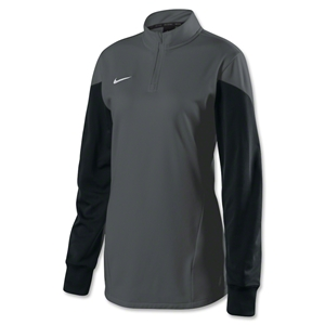 Nike Women's Long Sleeve Squad 14 Midlayer (Dk Grey)