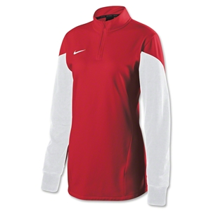 Nike Women's Long Sleeve Squad 14 Midlayer (Red)