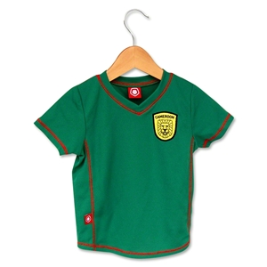 Cameroon Soccer Toddler Jersey (Green)
