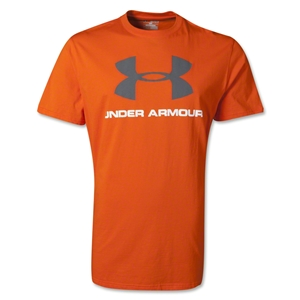 Under Armour Sportstyle Logo T-Shirt (Orange)