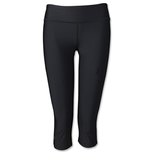 Under Armour Women's HeatGear Sonic Capri 14 (Black)