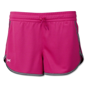 Under Armour Women's Rally Short (Magenta)