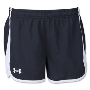 Under Armour Girl's Escape 3 Short (Blk/Wht)