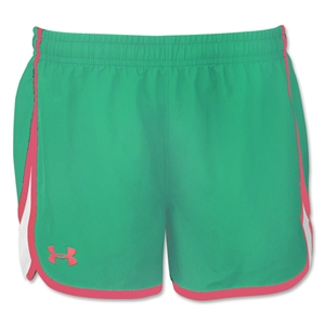 Under Armour Girl's Escape 3 Short (Teal)