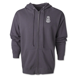 Aloha World Sevens Full-Zip Hoody (Dark Grey)
