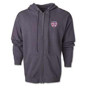 USA Sevens Rugby Full-Zip Hoody (Dark Gray)