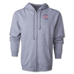 USA Sevens Vegas Rugby Full-Zip Hoody (Gray)