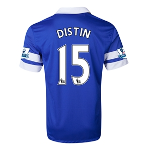 Everton 13/14 DISTIN Home Soccer Jersey