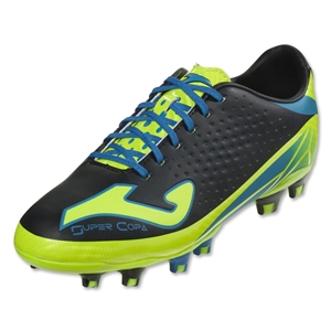 Joma Super Copa FG (Black/Yellow/Blue/White)