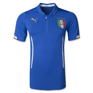 Italy 2014 Authentic Home Soccer Jersey