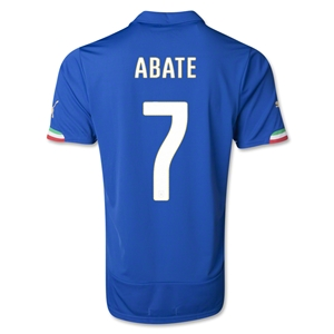Italy 2014 ABATE Home Soccer Jersey