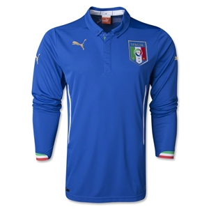Italy 14/15 LS Home Soccer Jersey