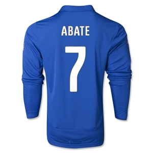 Italy 14/15 ABATE LS Home Soccer Jersey