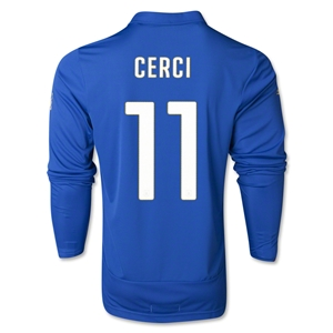 Italy 14/15 CERCI LS Home Soccer Jersey