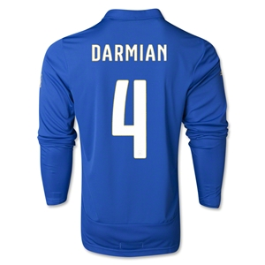 Italy 2014 DARMIAN LS Home Soccer Jersey