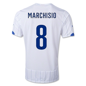 Italy 14/15 MARCHISIO Away Soccer Jersey