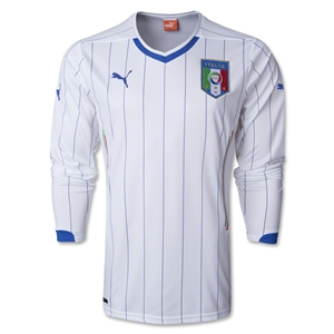 Italy 2014 LS Away Soccer Jersey