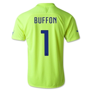 Italy 2014 BUFFON Goalkeeper Jersey