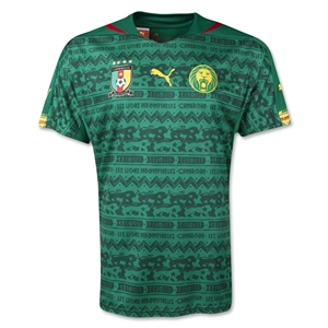 Cameroon 2014 Home Soccer Jersey
