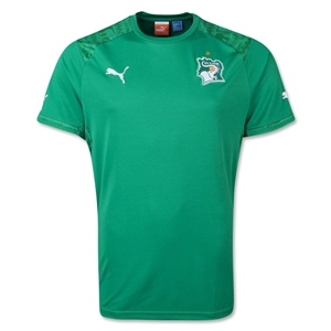 Cote d'Ivoire 2014 Away Soccer Jersey
