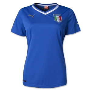 Italy Women's 2014 Home Soccer Jersey