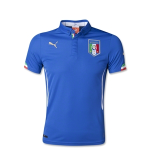 Italy 2014 Youth Home Soccer Jersey