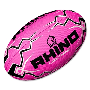 Rhino Pink Lightning Ball (Size 4)
