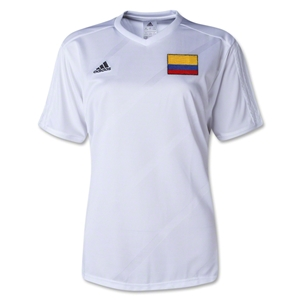 Colombia Women's Tabela 14 Jersey (White)
