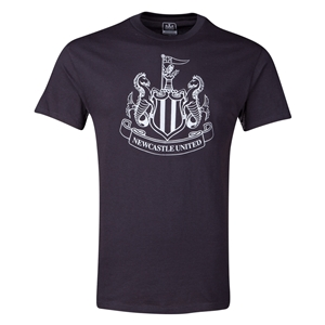 Newcastle United Metallic Crest T-Shirt