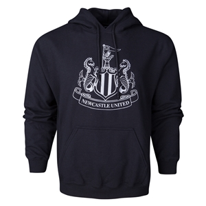 Newcastle United Metallic Crest Hoody (Black)