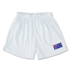 Australia Team Soccer Shorts (White)