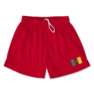 Cameroon Team Soccer Shorts (Red)