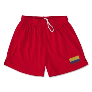 Colombia Team Soccer Shorts (Red)
