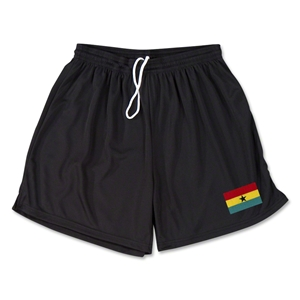 Ghana Team Soccer Shorts (Black)