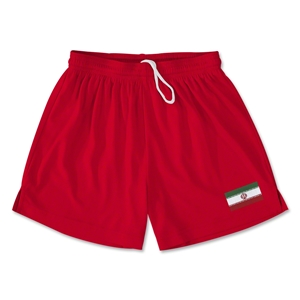 Iran Team Soccer Shorts (Red)