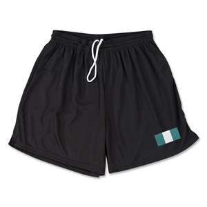Nigeria Team Soccer Shorts (Black)