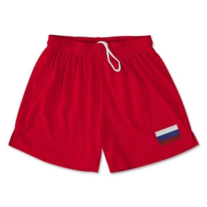 Russia Team Soccer Shorts (Red)