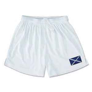 Scotland Team Soccer Shorts (White)