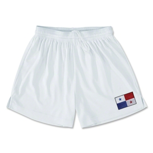 Panama Team Soccer Shorts (White)