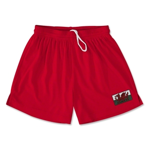 Wales Team Soccer Shorts (Red)
