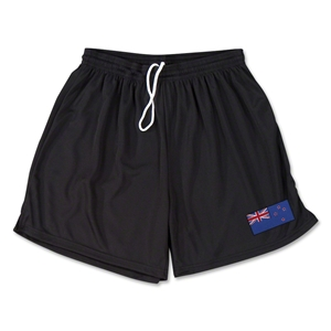 New Zealand Team Soccer Shorts (Black)
