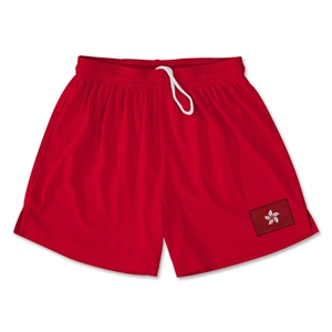 Hong Kong Team Soccer Shorts (Red)