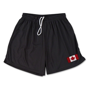 Canada Team Soccer Shorts (Black)