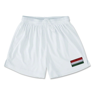 Hungary Team Soccer Shorts (White)