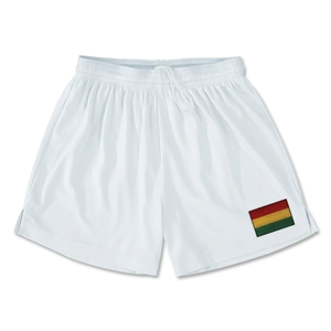 Bolivia Team Soccer Shorts (White)